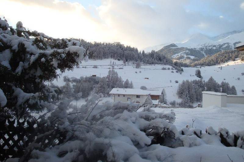 Winter in Nauders beim Apart Austria